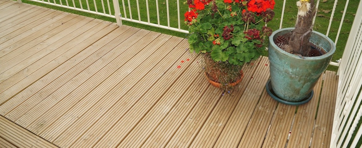 Decking Options | Caravan Veranda Specialists